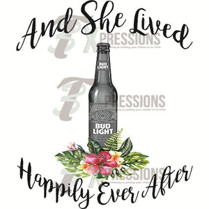 Bud Light, She Lived Happily Ever After - 3T Xpressions