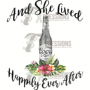 Coors Light, Happily Ever After - 3T Xpressions