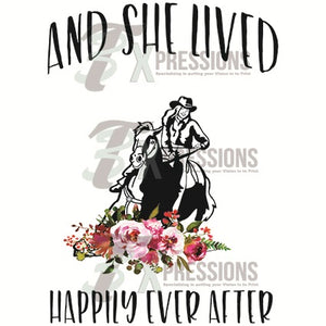 Cowgirl- And She Lived Happily Ever After - 3T Xpressions