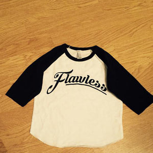 Flawless Raglan tshirt Navy and White - 3T Xpressions