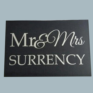 Mr and Mrs Door mat! - 3T Xpressions