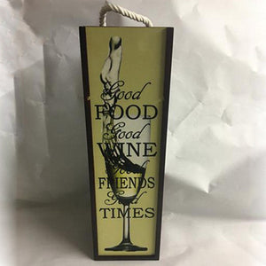 Wood wine box, gift box - 3T Xpressions