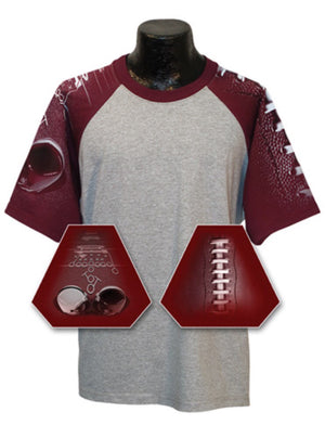Football Mom Shirt! Can be customized with any team and colors - 3T Xpressions