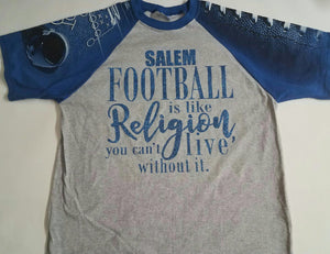 Football is Religion Shirt - 3T Xpressions