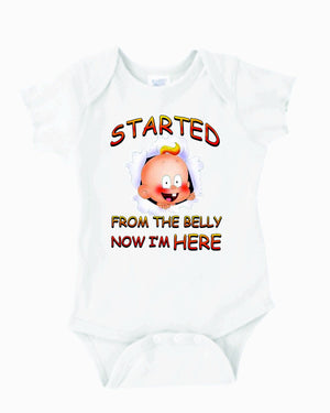 Started from the belly boy,girl - 3T Xpressions