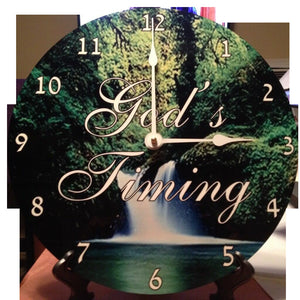 Customized Photo Clock - 3T Xpressions