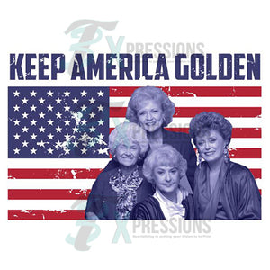 Keep america golden