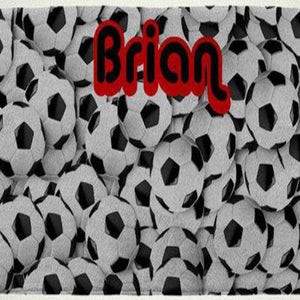 Personalized Soccer Beach Towel - 3T Xpressions