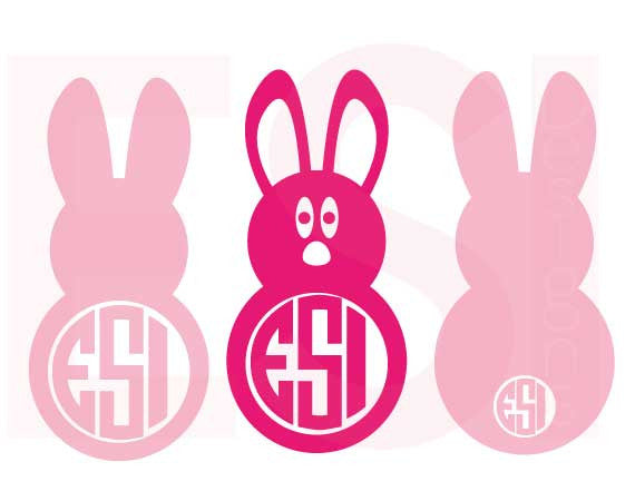 Easter Bunny SVG Cutting Files