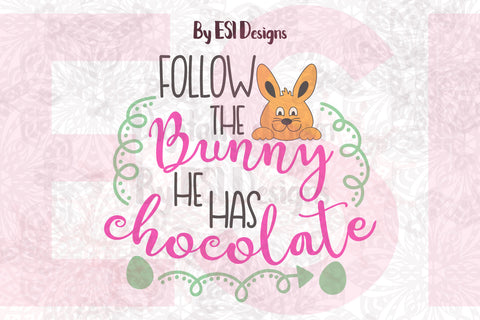Easter Bunny SVG by ESI Designs