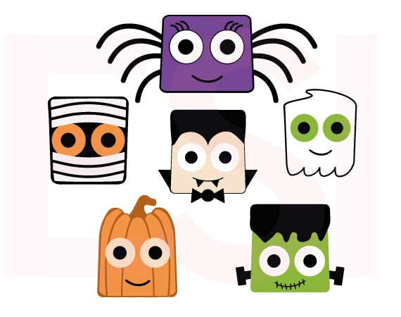 Halloween EPS and SVG Files