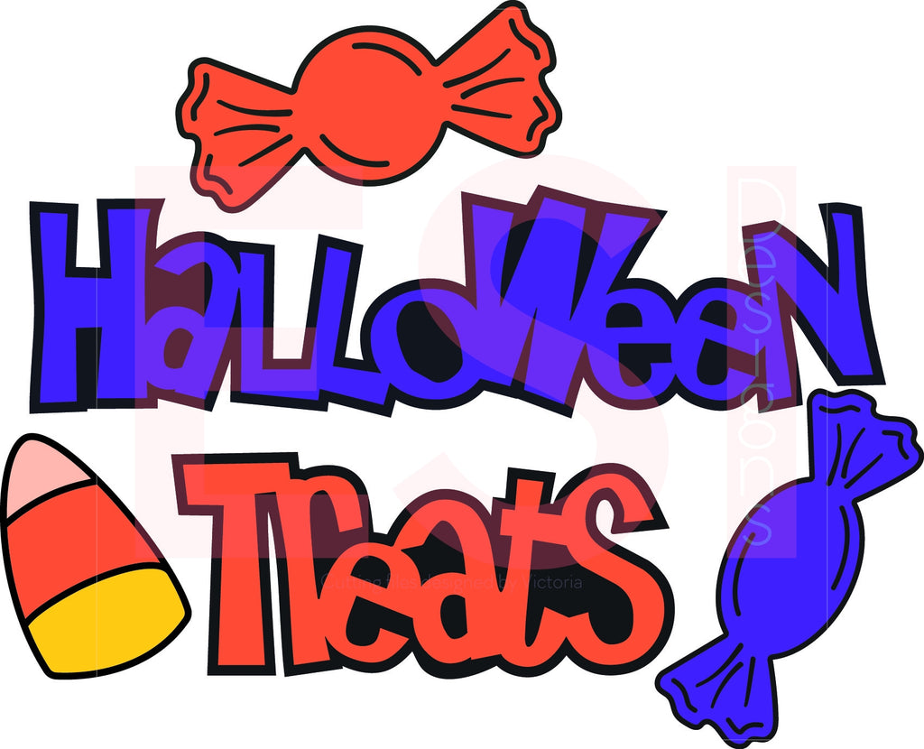 Halloween Signs SVG Cutting Files