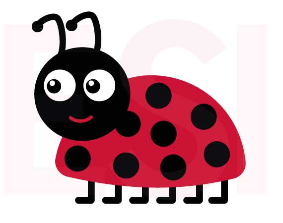 SVG Cutting Files Animals Ladybird