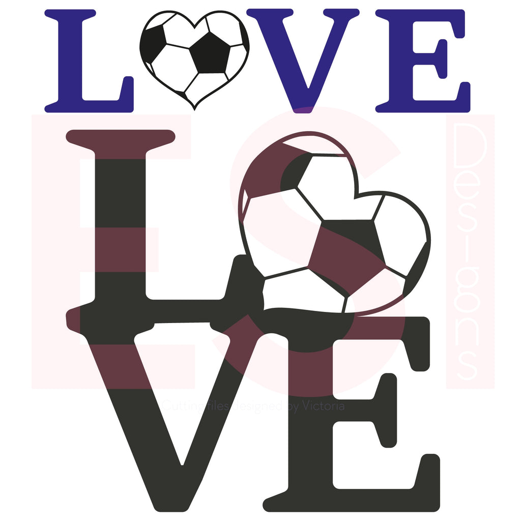 SVG Cutting Files Soccer