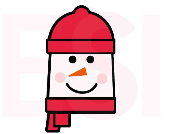 Christmas SVG Cutting Files Snowman