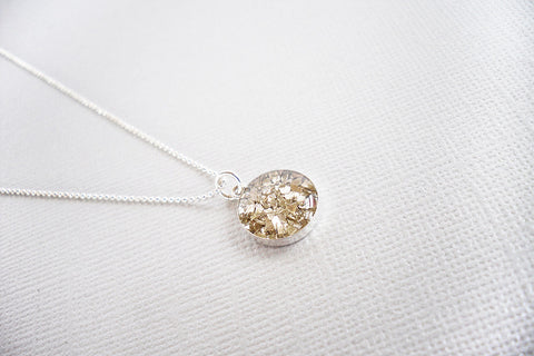 Champagne Mosaic Necklace