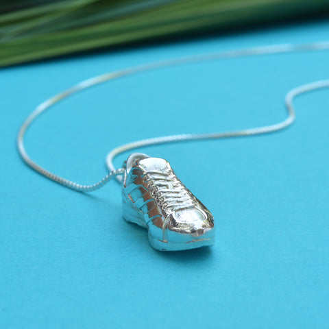 Running Shoe Necklace (Vertical)