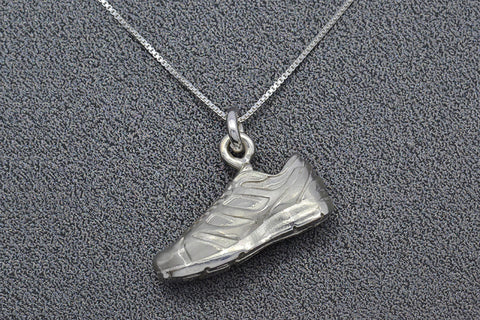 Running Shoe Necklace (Horizontal)