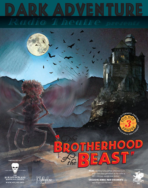 Dark Adventure Radio Theatre - The Brotherhood of the Beast