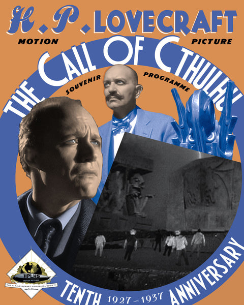 Cover of The Call of Cthulhu souvenir program