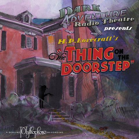 "Cover art for ""The Thing on the Doorstep"" by Darrell Tutchton"