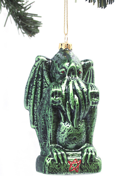 Cthulhu Solstice Ornament