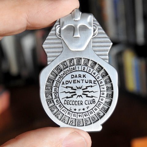 Dark Adventure Decoder Badge