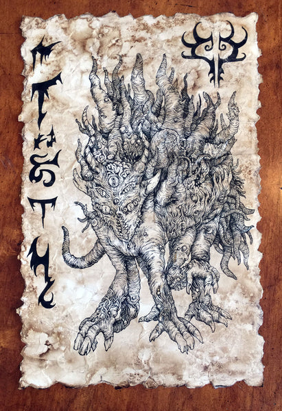 Covenant of Shub Niggurath scroll