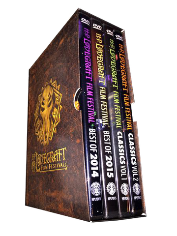 H.P. Lovecraft Film Festival 4 DVD Boxed Set