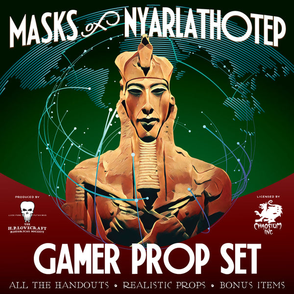 Masks of Nyarlathotep - Gamer Prop Set