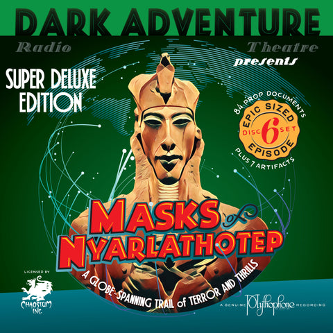 Masks of Nyarlathotep - Super Deluxe Limited Edition