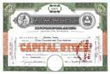 A stock certificate for New World Incorporated.