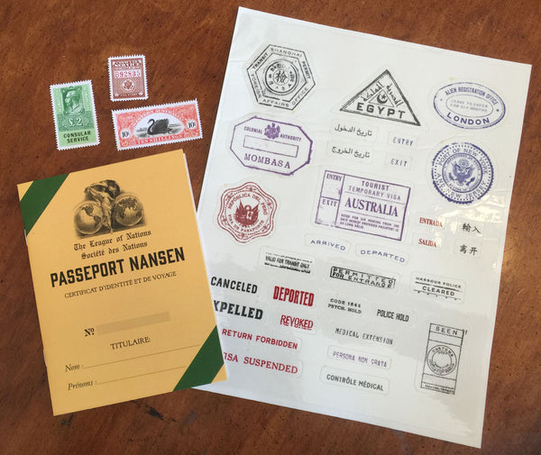 Nansen Passports for Role Playing Games