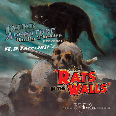 """The Rats in the Walls"" cover image by Darrell Tutchton"