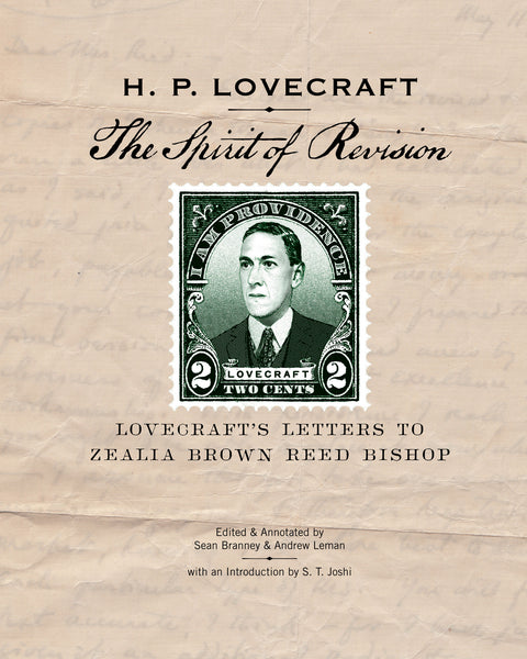 The cover image of the book The Spirit of Revision - Lovecraft's Letters to Zealia Brown Reed Bishop