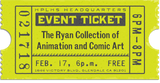 Exhibition of Original Animation and Comic Book Art: The Ryan Collection