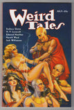 Cover image of Weird Tales, July 1933