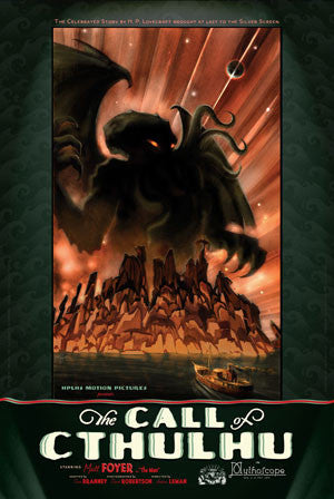 The Call of Cthulhu Poster