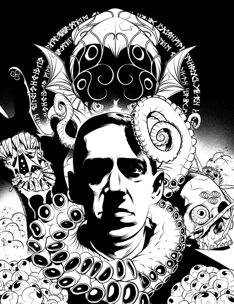 The H.P. Lovecraft Coloring, Dot-to-Dot, & Activity Book – The HPLHS ...