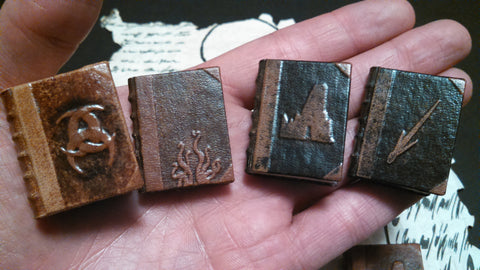 Miniature Lovecraft Books