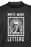 Write More Letters T-shirt