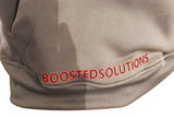 "Boosted Solutions Mens ""I'M ADDICTED"" Grey Polyester Hoodie"