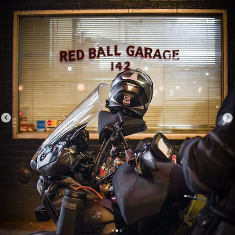 Red Ball Garage in New York City is the starting point for the Cannonball Run.