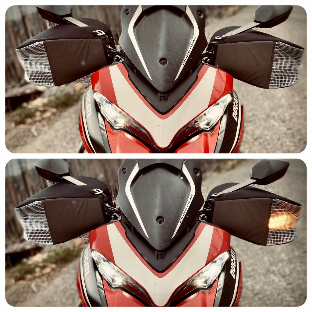 Duc — Ducati Multistrada motorcycle hand covers
