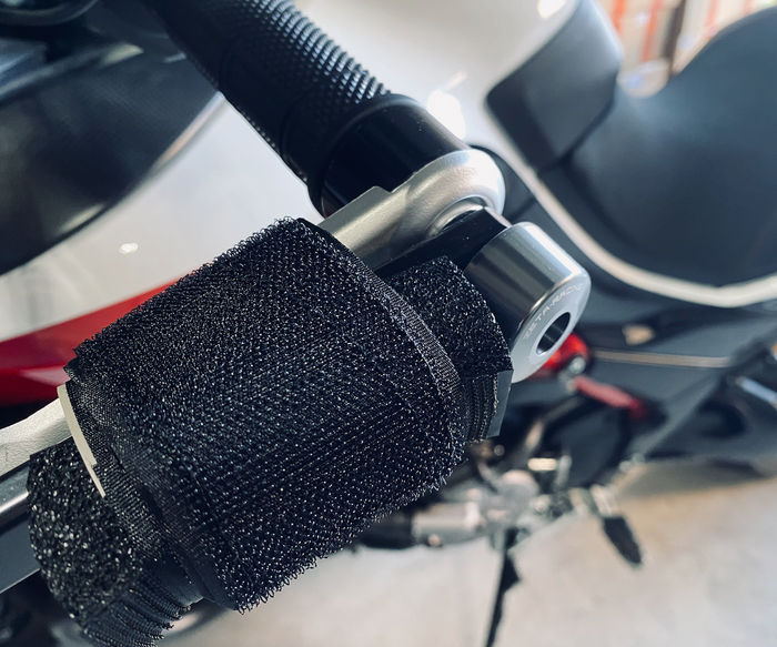 Velcro bar wraps