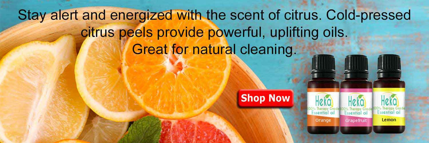 citrus Essential Oil Stay Energized
