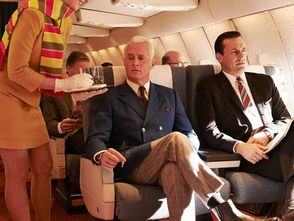 How Air Travel Has Changed Since the Days of 'Mad Men'