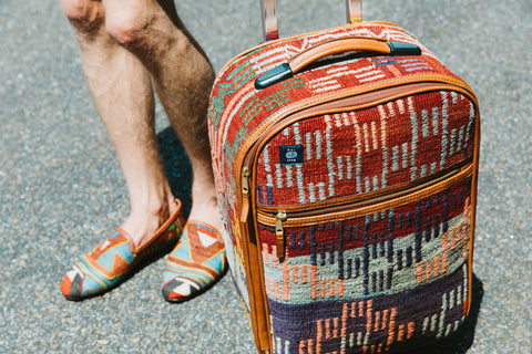 Res Ipsa Kilim Luggage and Loafers
