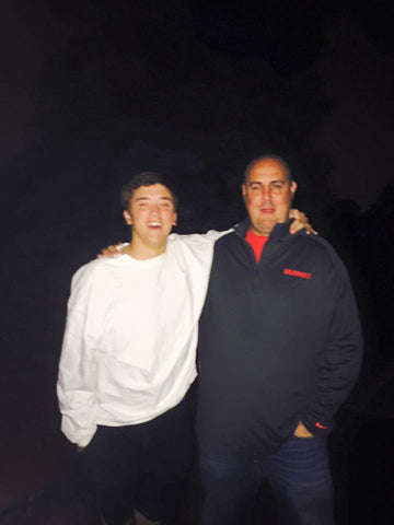 Cole and his stepfather
