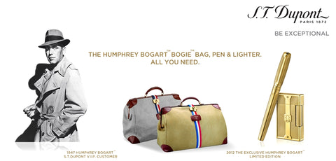 S.T. Dupont one hundred fortieth anniversary under Humphrey Bogart constellation